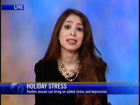 Coping with Stress & Mental Illness during Holiday Seasons - Dr. Katy Kamkar CTV News Channel