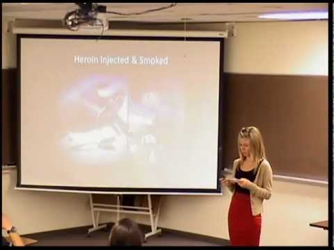 Inf Speech-1 Video On Heroin Abuse/Addiction
