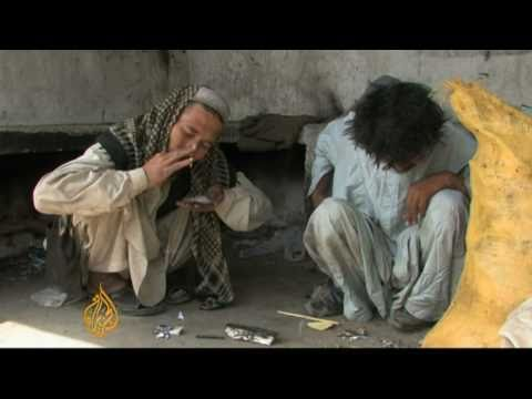 Heroin addiction on the rise in Pakistan