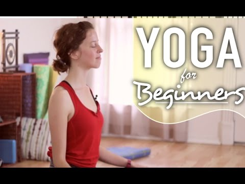 Yoga For Stress, Anxiety, & Depression - Relaxing Beginners Yoga Flow