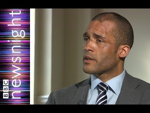 Clarke Carlisle on depression, his attempted suicide and on mental health - Newsnight