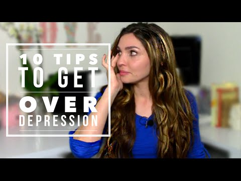 How To Deal With DEPRESSION - 10 Tips (Part 2)