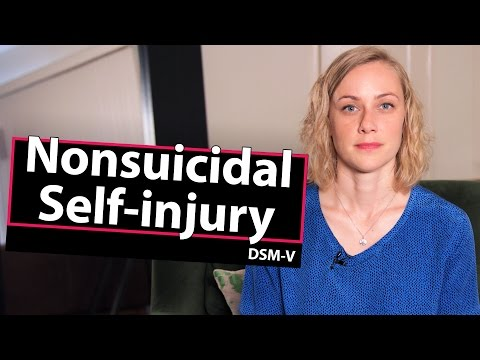Diagnosis? Nonsuicidal Self-Injury - DSM-V // Mental Health with Kati Morton