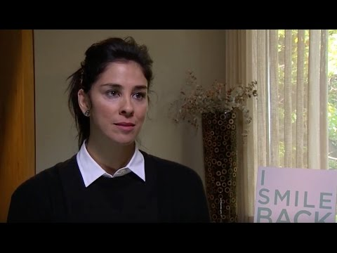 "Sarah Silverman talks about depression and political correctness for her new movie, ""I Smile Back"""