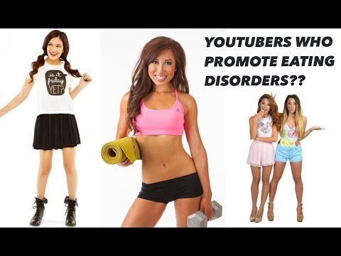 Youtubers who promote eating disorders