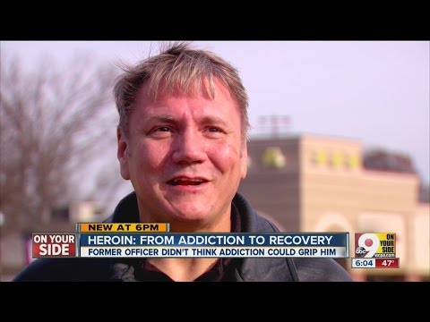 Former police officer fighting heroin addiction