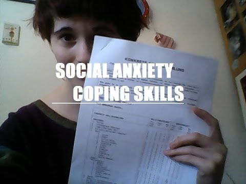 Social Anxiety: Coping Skills