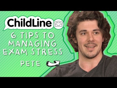 6 Tips To Managing Exam Stress ft. Pete Bucknall | ChildLine