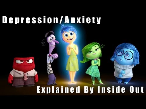 Depression/Anxiety Explained By Inside Out!