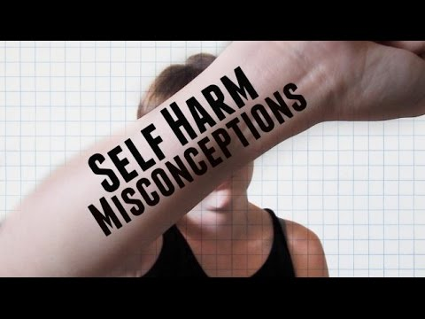 14 Self Harm Misconceptions