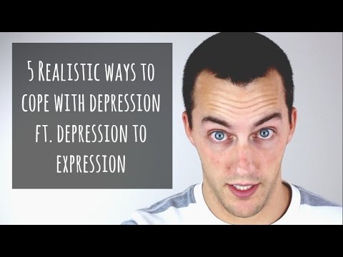 5 Realistic Ways to Cope with Depression ft. Depression to Expression