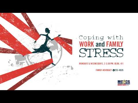 Coping with work and family stress