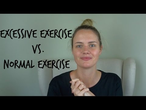 Eating Disorders | Excessive Exercise vs. Normal Exercise
