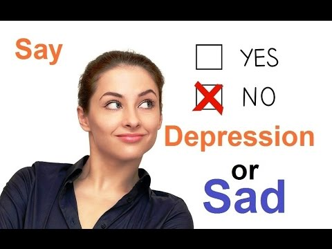 Difference Between Depression & Sadness : Psychological Test