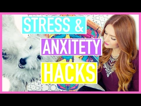 8 STRESS & ANXIETY LIFE HACKS!