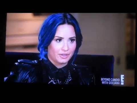Demi Lovato - Rehab & Self Harm on Giuliana Rancic: Beyond Candid