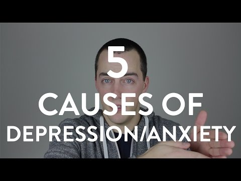 Top 5 Causes of Depression/Anxiety: The Modern Mind