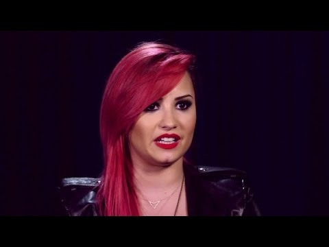 "Demi Lovato on self harm: ""You can get through it"""