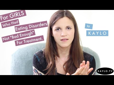 "For Girls Who Had Eating Disorders Not ""Bad Enough"" For Treatment - Spoken Word Poem"