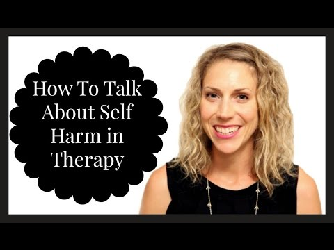Self Harm + Therapy FAQ (ft. Julia Kristina Counselling)