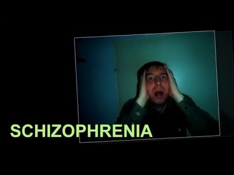 A guy suffering from schizophrenia