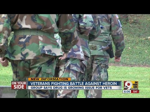Veterans join fight against heroin addiction