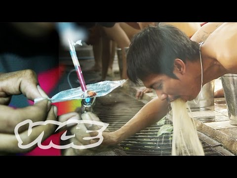 Thai Meth Epidemic and Vomit Rehab